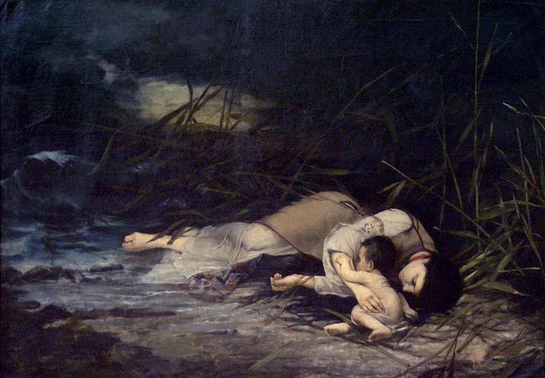 "Đorđe Krstić - ""Utopljenica"" (1879)"