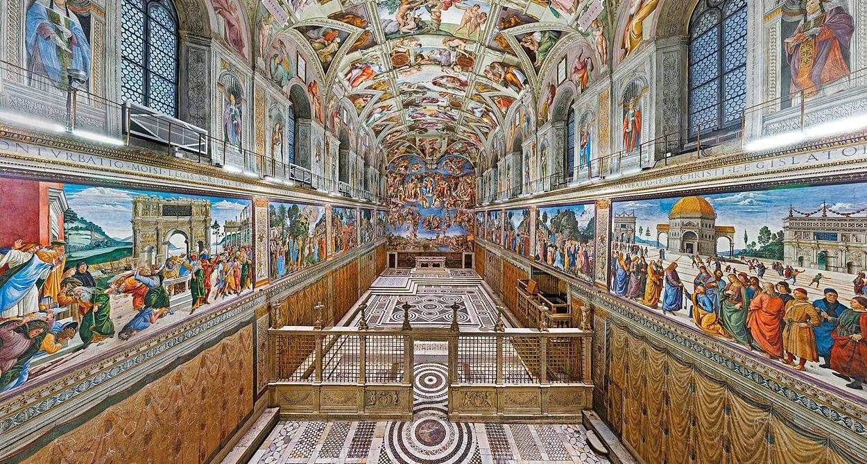 Sikstinska kapela, Vatikan