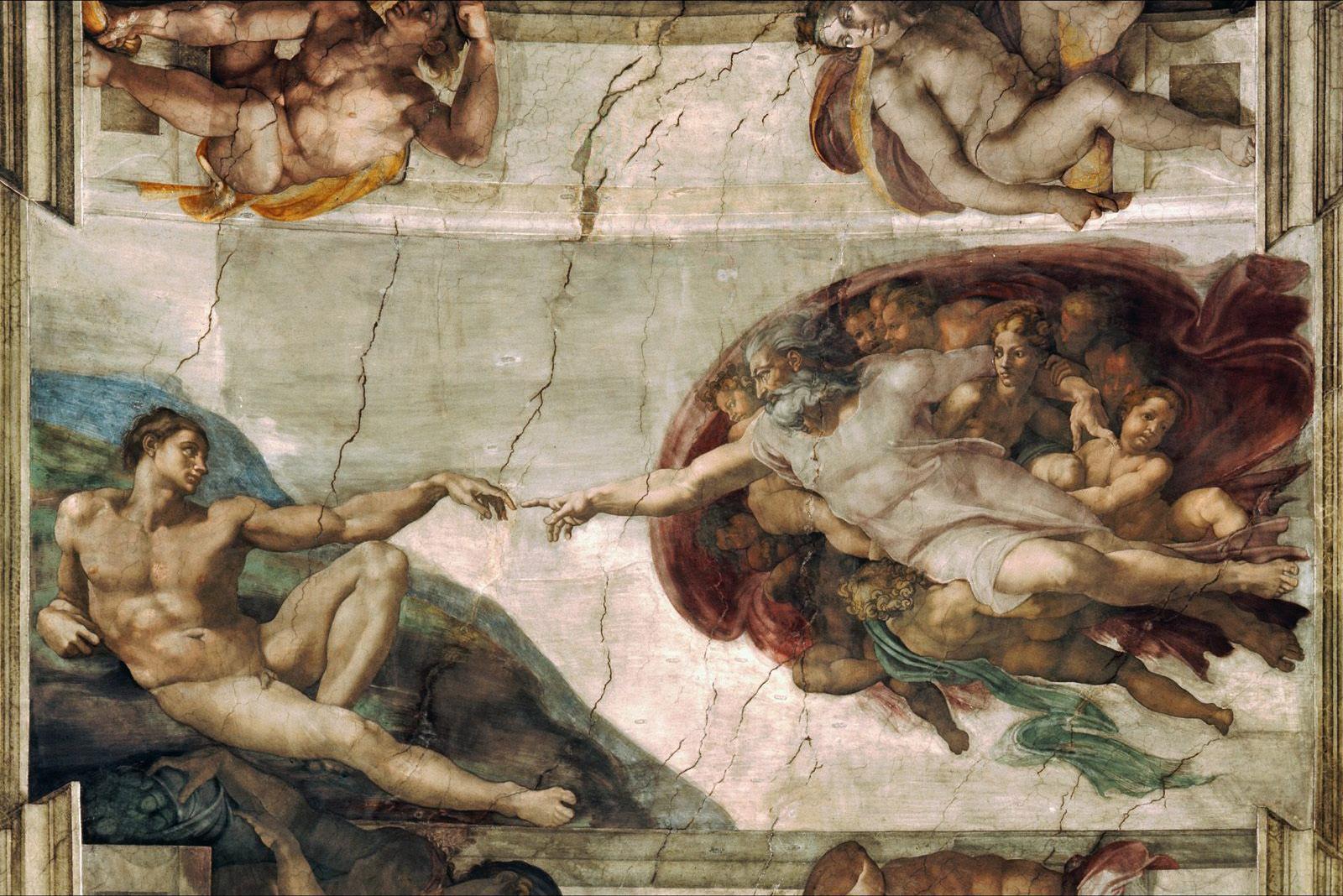 """Mikelanđelo: """"Stvaranje Atama"""""""