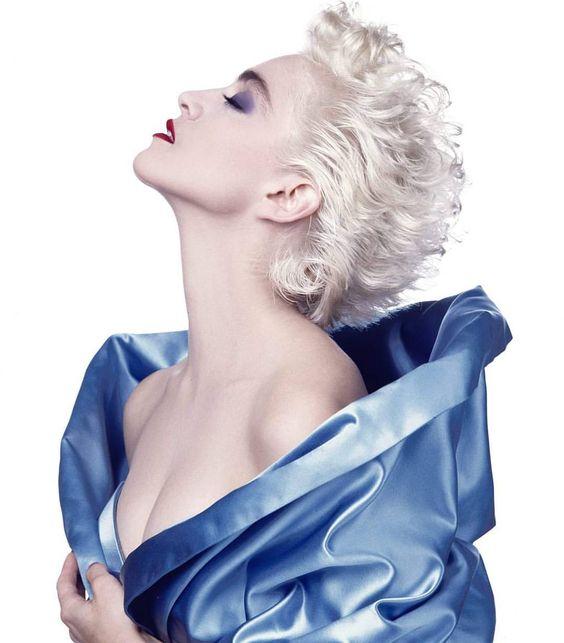 Madonna, fotografija za časopis Vanity Fair, 1986.