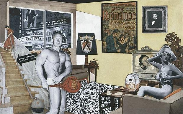 """Ričard Hamilton: """"Šta čini današnje domove tako raličitim, tako privlačnim?"""""""