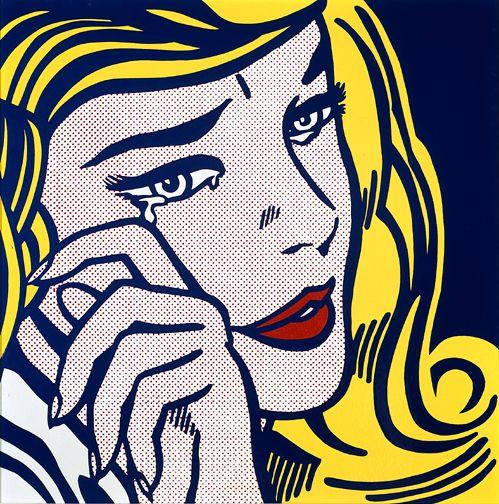 "Roj Lihtenštajn: ""Uplakana devojka"""