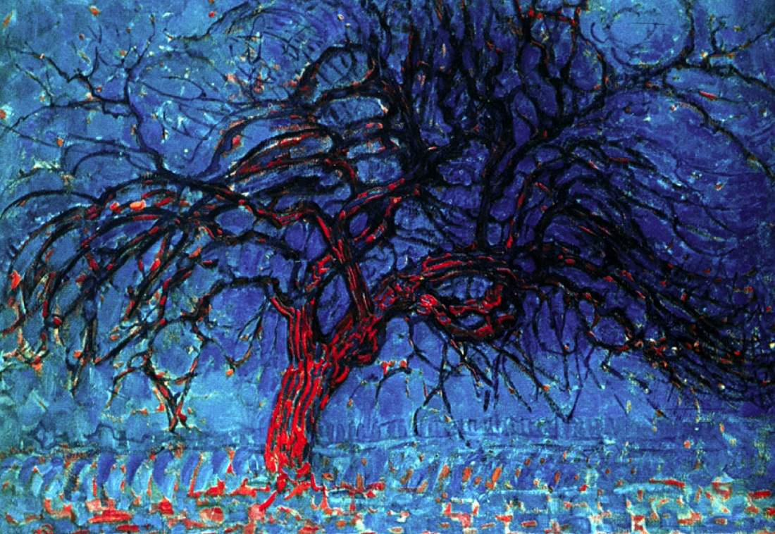 "Pit Mondrijan: ""Crveno drvo"""