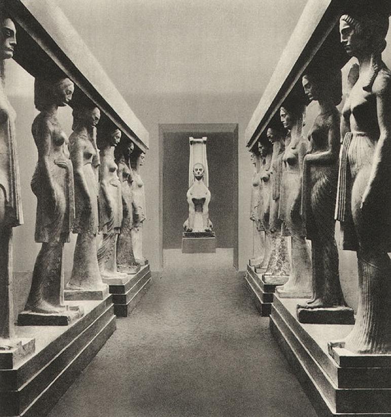 Ivan Meštrović: Paviljon Kraljevine Srbije na međunarodnoj izložbi u Rimu, 1911.