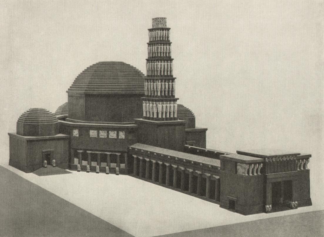 Ivan Meštrović: Drveni model za Vidovdanski hram