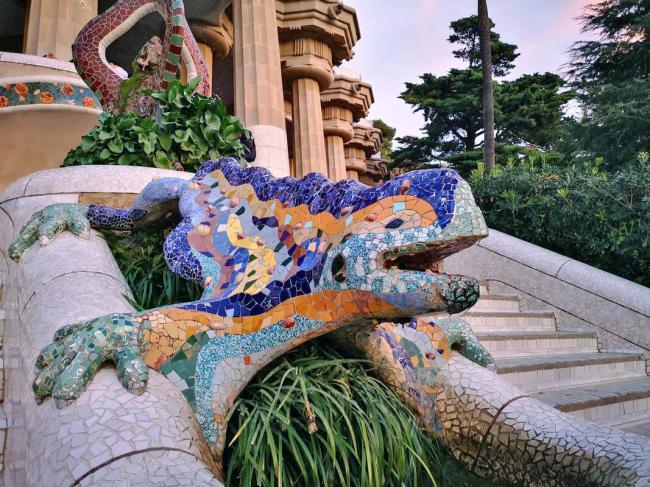 Antonio Gaudi - Park Guelj